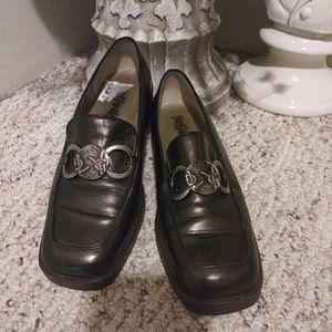 EUC Vintage Yves Saint Laurent Square Toed Loafers